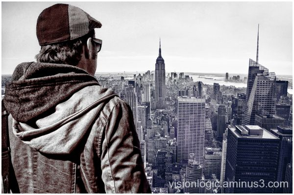 Mikey (Top of the Rock), Rockefeller Center, NYC