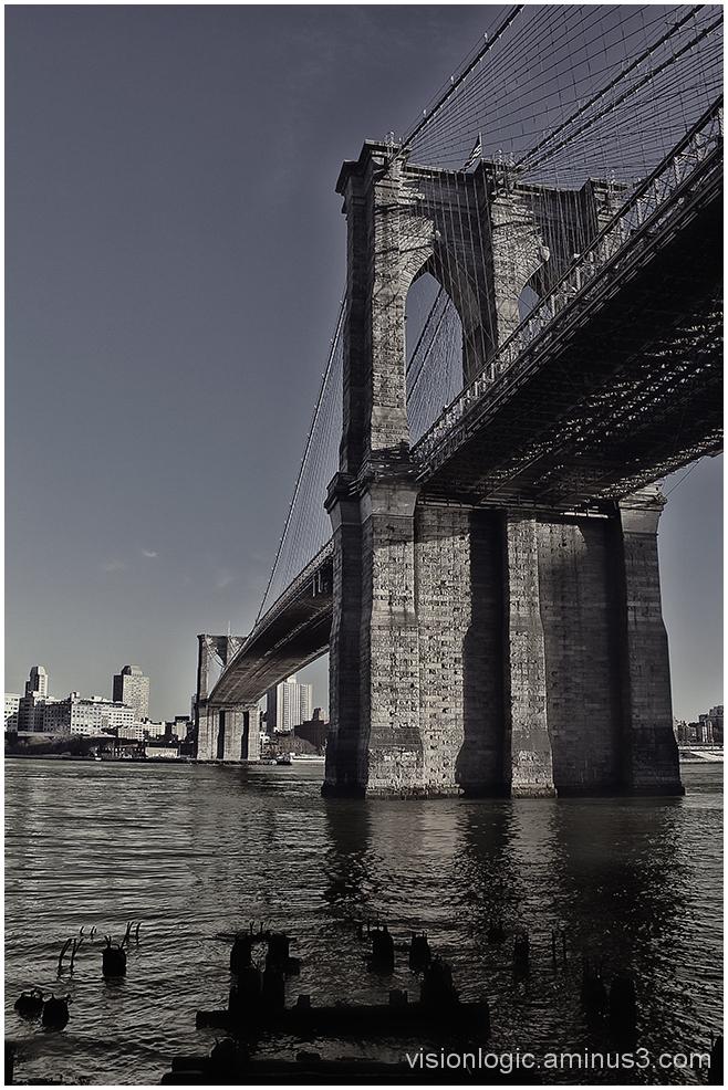 Brooklyn Bridge Pier, East River NYC