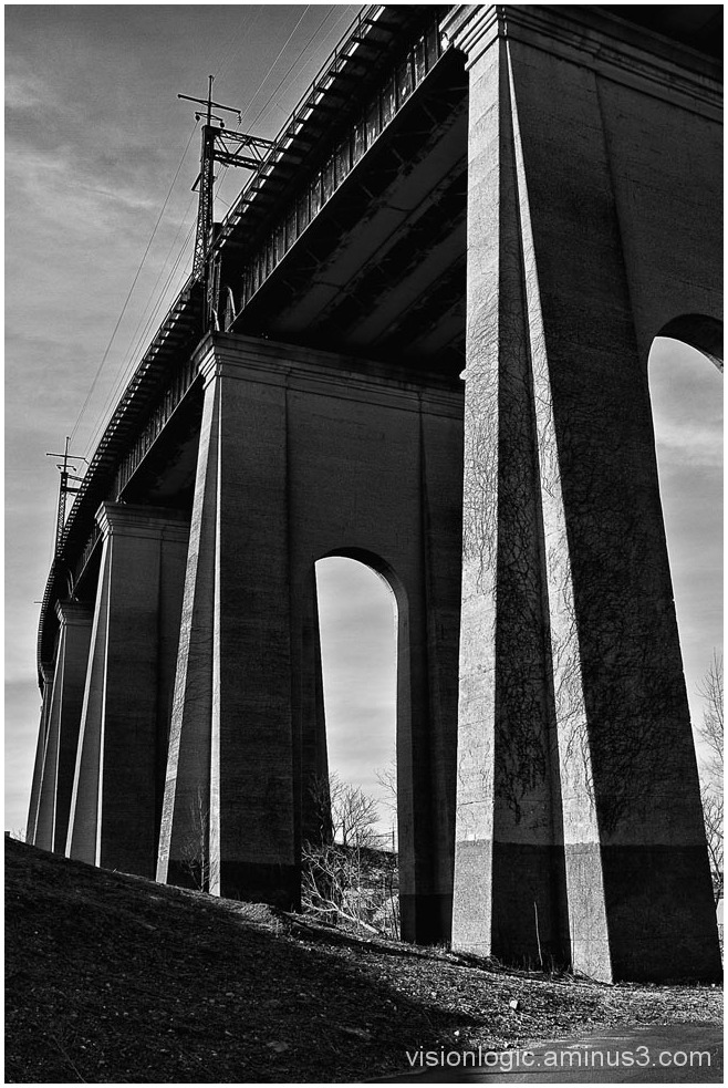 Hellsgate Bridge Trestle, Randalls Island, NYC