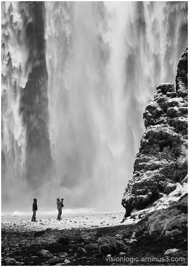 Wall of Water, Skogafoss, Southern Iceland