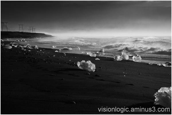 Glistening Glitteratti, Jokulsarlon Glacier Lagoon