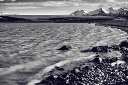 Glacial Runoff Pool, Jokulsarlon, Southern Iceland