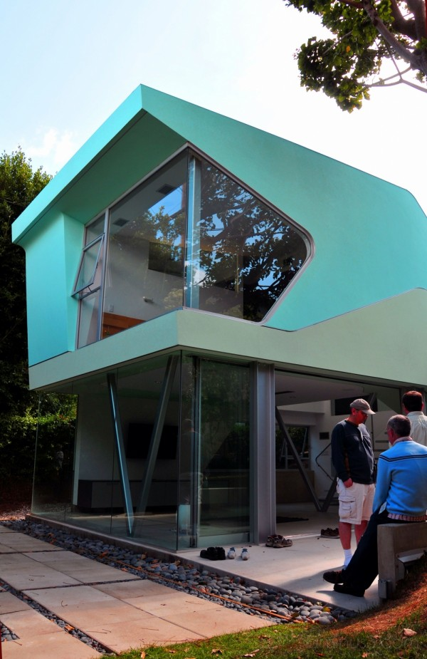 home of 2 graphics designers in Santa Monica