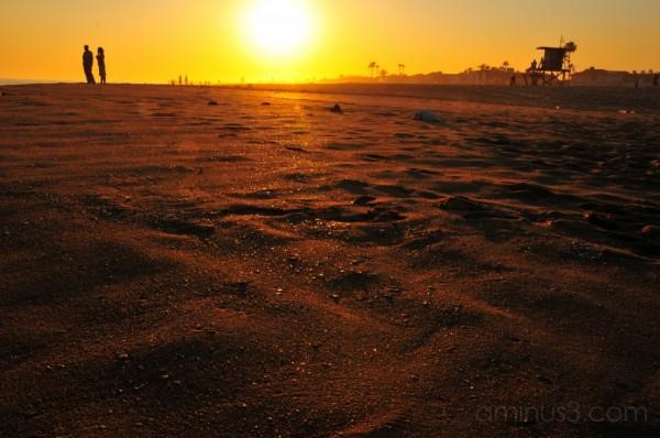 glittering sand