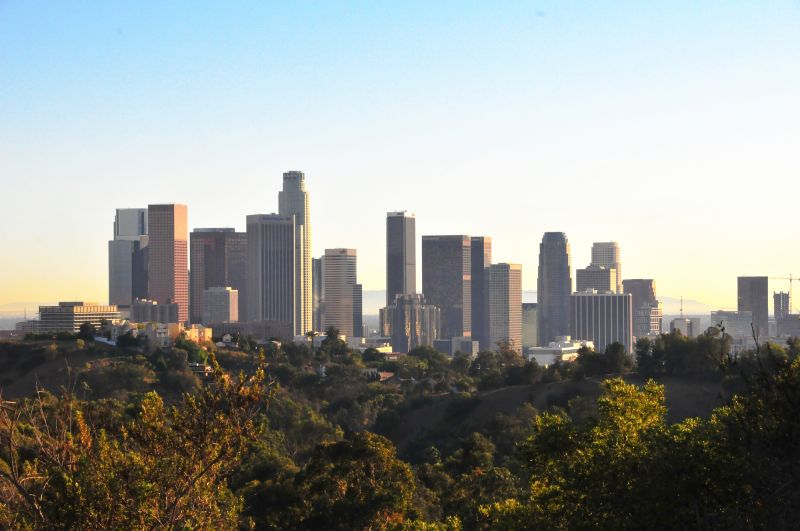 LA.. in a peaceful afternoon