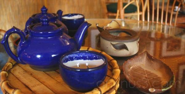 Tea Set at Dobra Tea