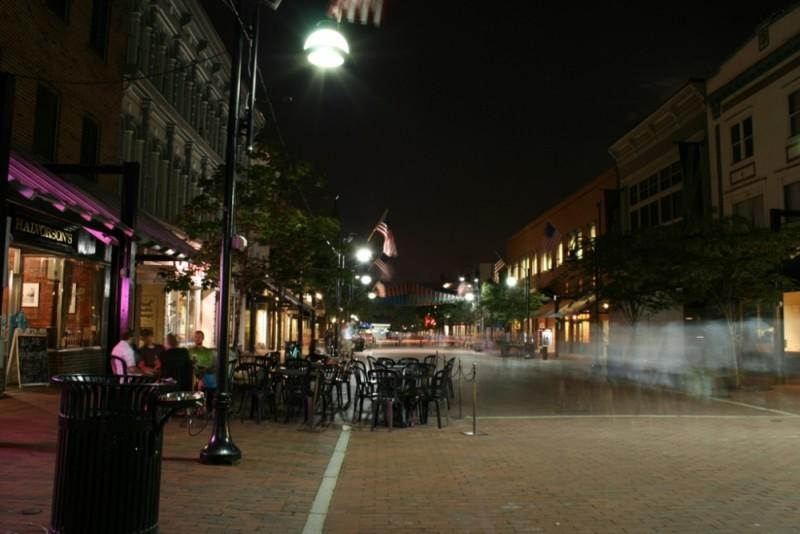 Church Street At Night