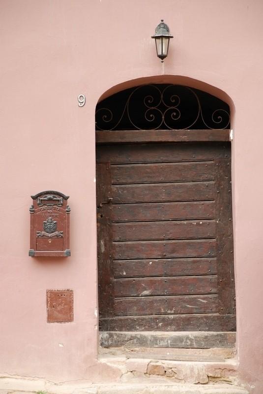 door to unknown