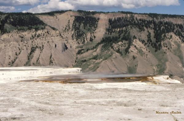 Yellowstone near Mammoth