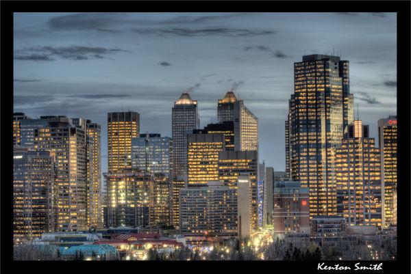 Calgary Sunset 2