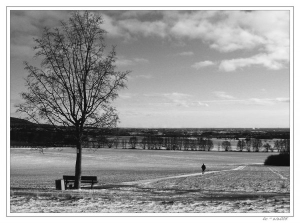 Bad Soden, alone in winter