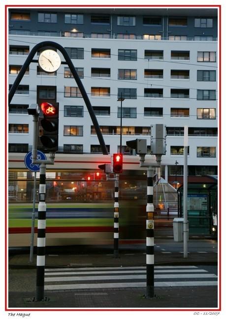Dawn in The Hague