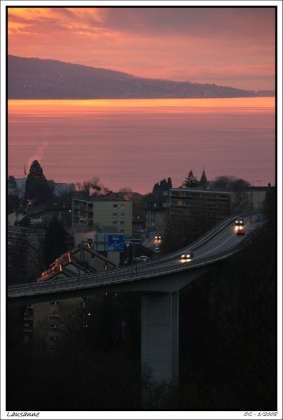 Vevey sunset