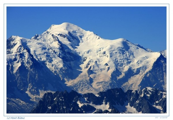 mont-blanc mont blanc chamonix haute cime