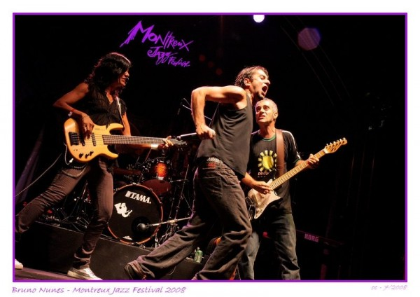 Bruno Nunes + the preserve Amazonia Band Montreux