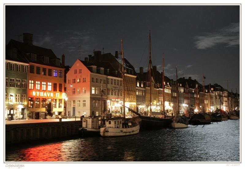 Copehagen by night