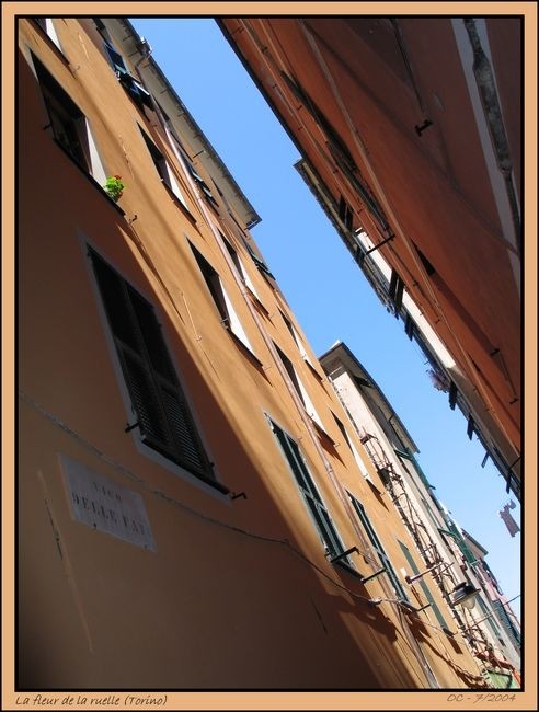 Italian  narrow street