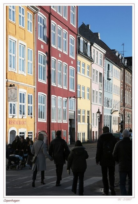 Street of Copenhagen