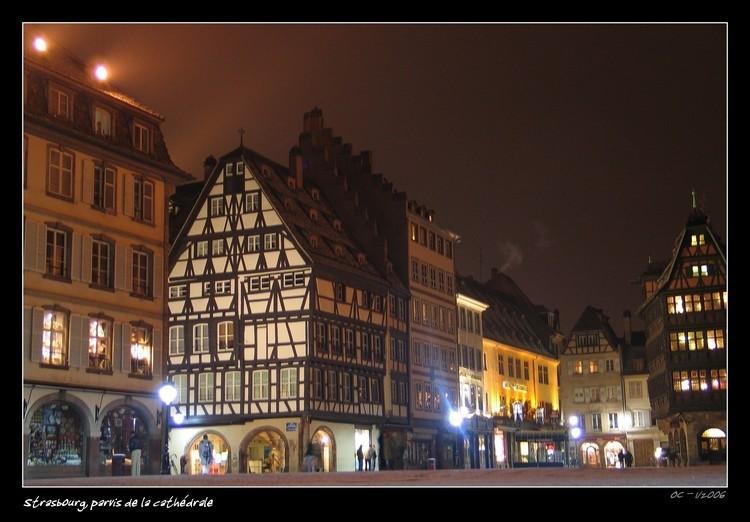 Strasbourg - Place de la Cathedrale