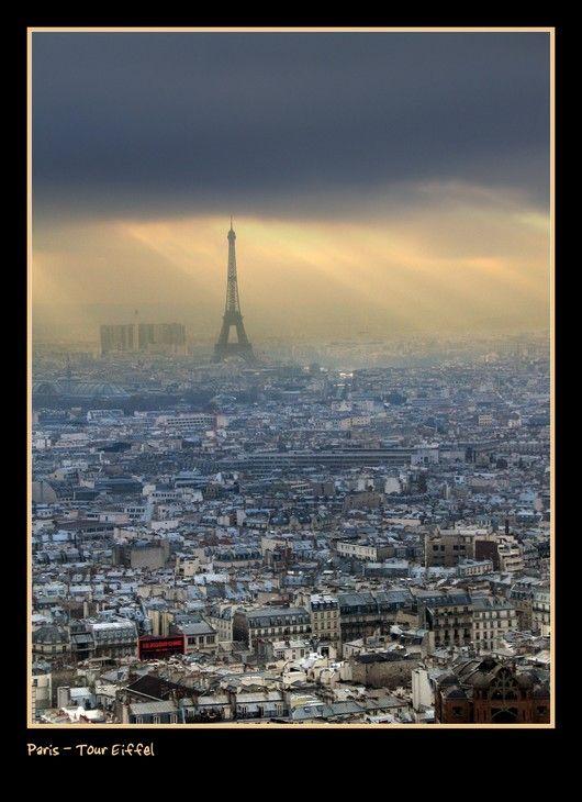 Paris Prais Tour Eiffel