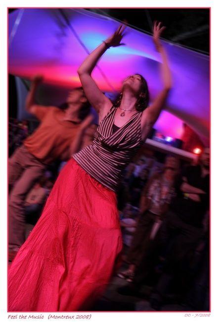 Dance, music and mood