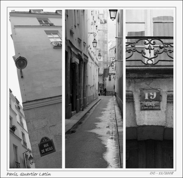 Paris quartier Latin France street