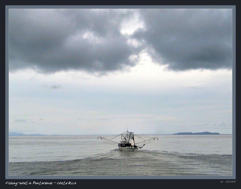 Costa Ricca - Fishingboat