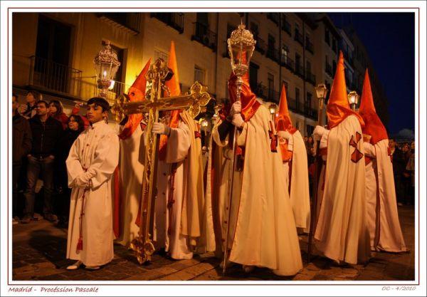 Madrid -  Procéssion Pascale