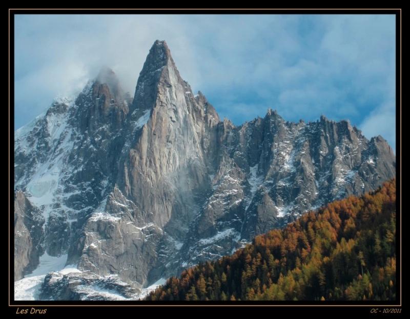 Les Drus (Chamonix)  - Alpes