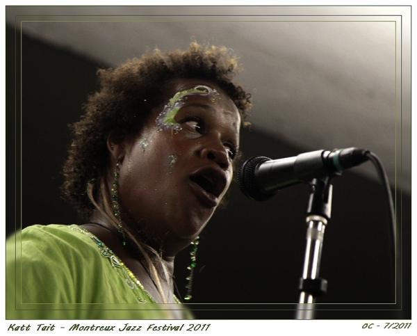 Montreux Jazz Festival 2011 Katt Tait