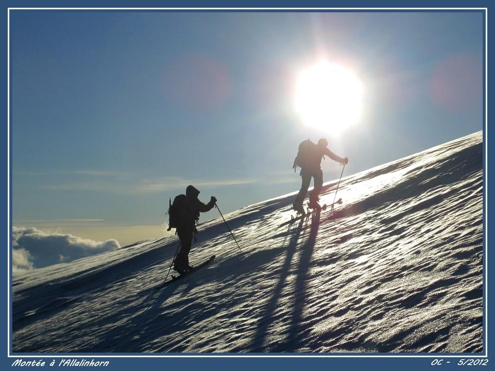 Ascent of the Allalinhorn (4023m)