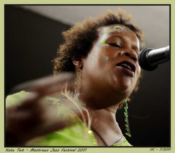 Montreux Jazz Festival 2011  Kate Tait