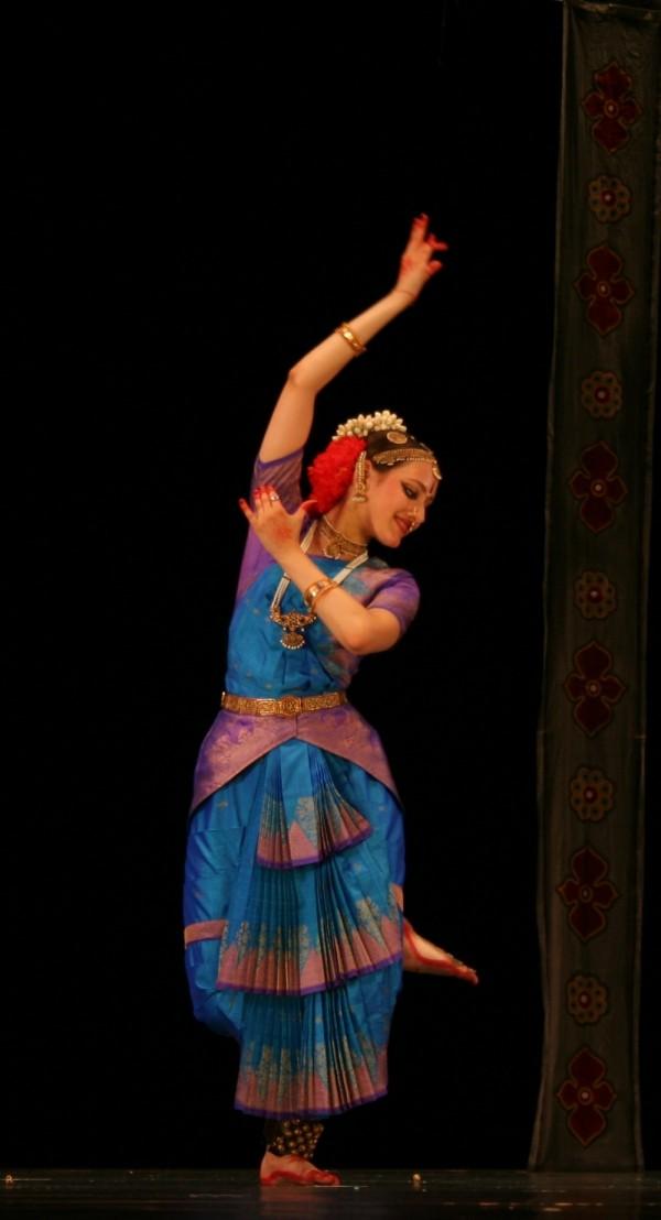 performing krishna?