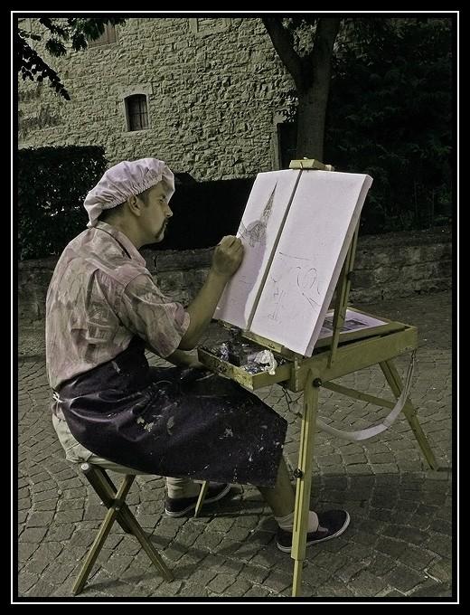 Le béret qui fait le peintre ?