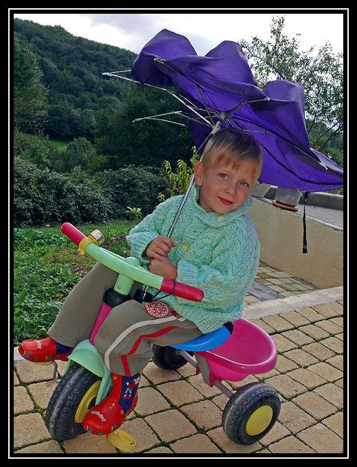 L'est pas bô mon parapluie ?!