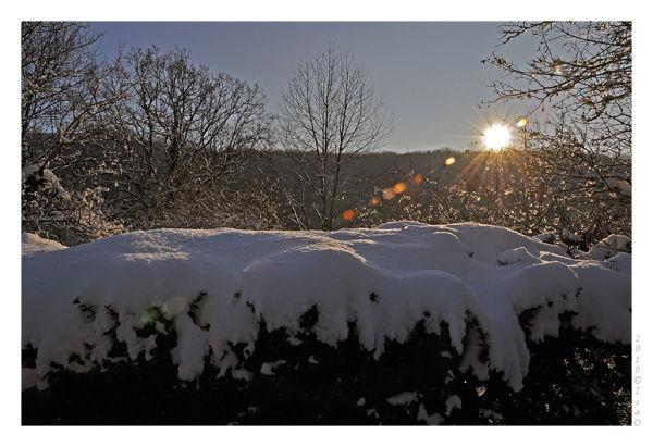 Le chemin sous la neige (1)