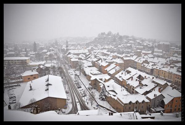Crémieu sous la neige (1)