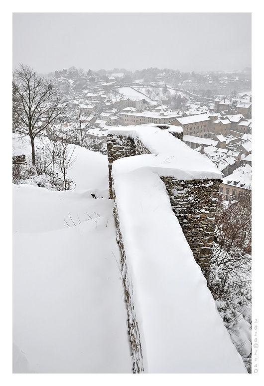 Crémieu sous la neige (2)