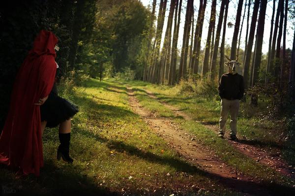 Chaperon rouge... à ma façon ;-) 09