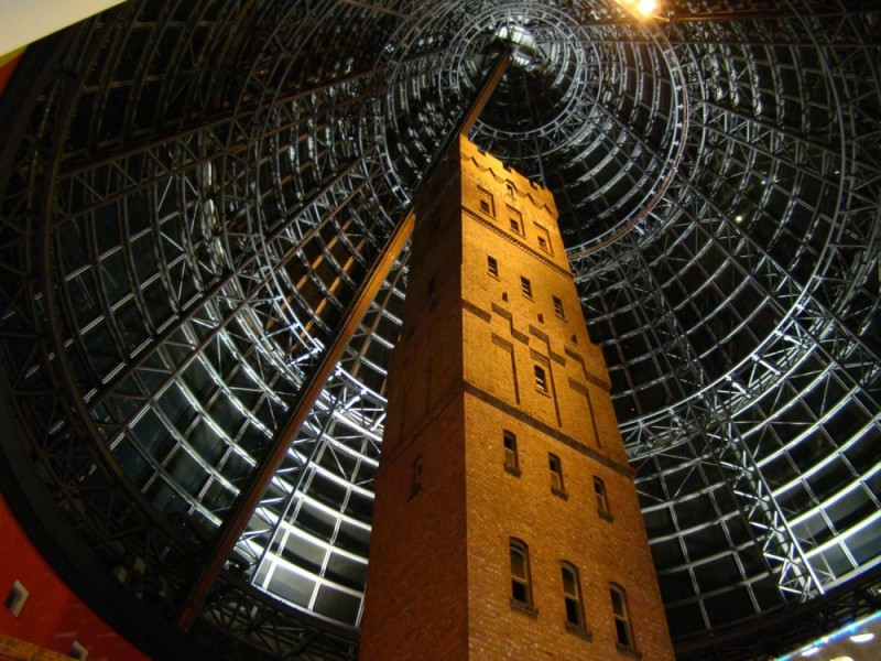 Melbourne central station shot tower museum