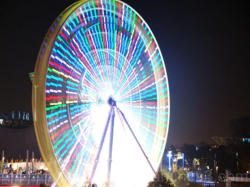 Ferris wheel on Yarra River