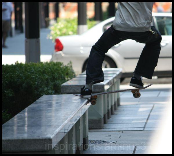 Skate, roll