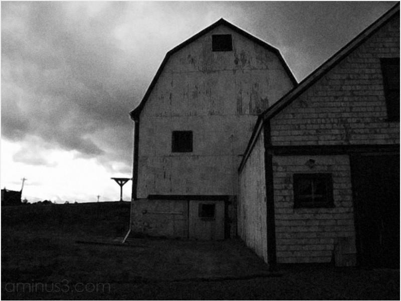 barns farm wooden structures sunrise coleville