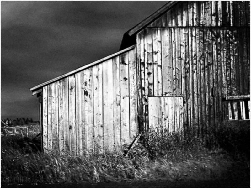 rural agricultural barn rustic roof hay sky roamin