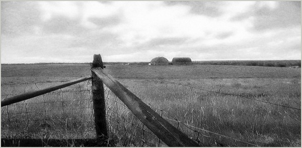 seaside stormclouds fields barns fenceposts roamin