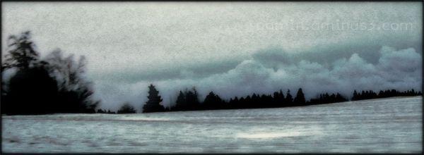 clouds daybreak north winter roamin