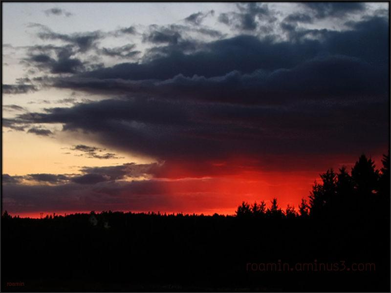 sunset digital-noise northwest lusco-fusco roamin