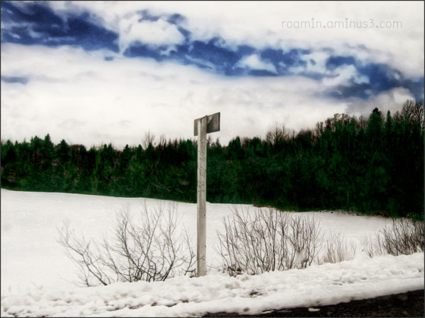 clouds snow fenwick reality signpost winter roamin