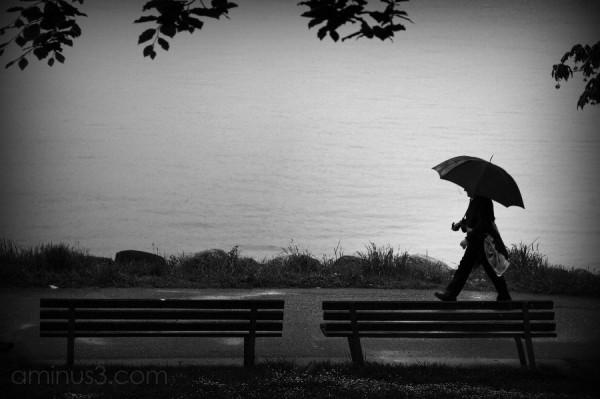 it's just a little rain