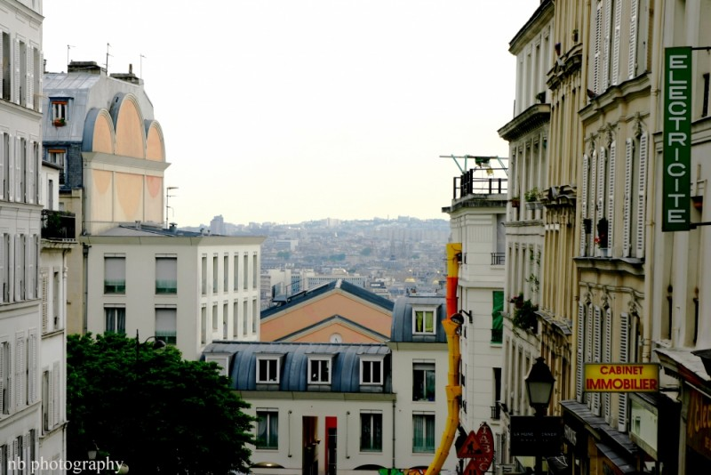Butte de Montmartre skyline